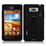 Black LG Venice Rugged Case Full Protection