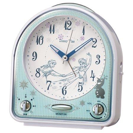 SEIKO セイコー ディズニーキャラクター 目覚まし時計 アナと雪の女王 FD475W