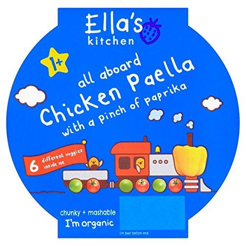 Ella's Kitchen Little Big Meal Chicken Paella Stage 4 200g