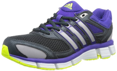 Adidas Womens Questar Cushion 2 W Running Shoes Gray Grau (Night Shade F13 / Night Met. F13 / Electricity) Size: 43 1/3
