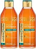 Dessange Shampoing nourrissant régénérant Extrême 3 Huiles : argan, camélia et pracaxi 250 ml - lot de 2