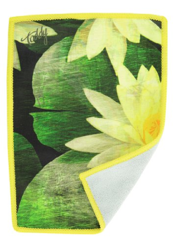 Toddy Gear 15X7B10002 5 X 7 Inches Premium Microfiber Smart Cloth For Touch Screen Devices - Water Lily