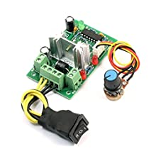 DC 6-30V 200W CW Stop CCW Reversible PWM Motor Speed Controller Module