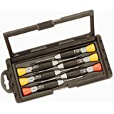 Bahco 706-3 Precision Screwdriver Set with 4 Slots and 2 Pozidriv