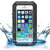 iProtect iPhone 5 / 5s Outdoor Case Schutzhülle Panzerglas Shock- and Dirtproof in schwarz
