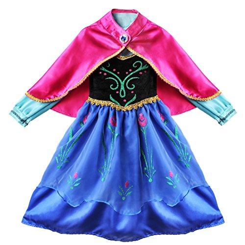 iEFiEL un Vestido de Princesa de Manga Larga con una Capa Desmontable...