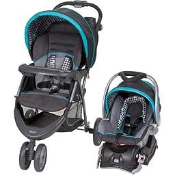 Baby Trend EZ Ride 5 Travel System stroller with EZ Flex-Loc Infant Car Seat , Capri