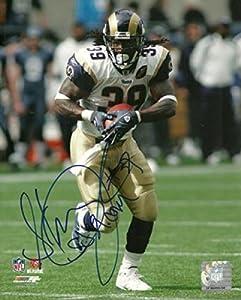Steven Jackson Signed Photograph - 8x10 W COA - Autographed NFL Photos