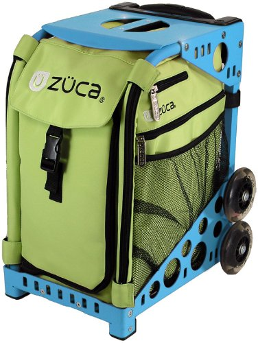 zuca ZÜCA has designed the ultimate carry-all. Whether it's the ZÜCA PRO for the business professional needing carry on luggage or a business case or the ZÜCA Sport for use as a book bag or skate bag, ZÜCA has your bag.