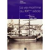 pornic, vie maritime au xix siecle, 1840-1898