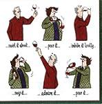 Entertaining with Caspari Wine Tastin...