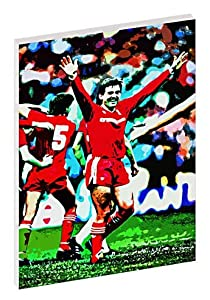 Kenny Dalglish Liverpool FC Framed Stylish Framed Canvas Print A2 Size Special Offer from ART247