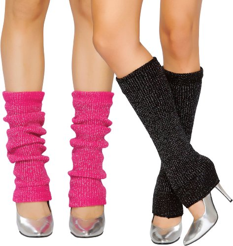 Pink/Silver Leg Warmer