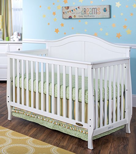 Child Craft Camden 4-in-1 Lifetime Convertible Crib, White