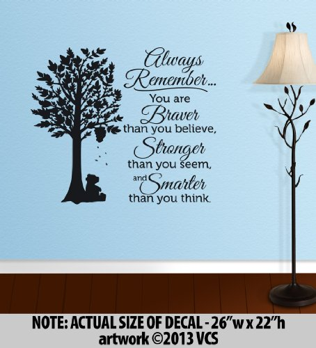 Winnie The Pooh Wall Quotes front-644242
