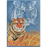 Janlynn Forever Wild Tiger Cntd X-Stitch Kit (Color: Forever Wild Tiger)