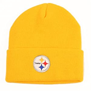 Pittsburgh Steelers Cuffed Knit Hat from SteelerMania