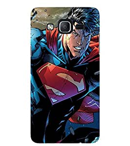 Evaluze superhero Printed Back Cover for SAMSUNG GALAXY ON5 PRO 2016