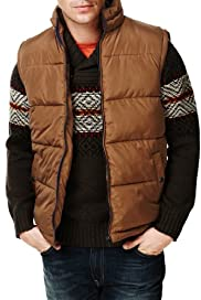 North Coast Funnel Neck Panelled Gilet [T16-2161N-S]