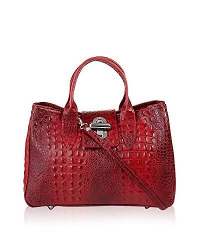 PITTI BAGS Bolso asa de mano Rojo one size