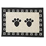 Pet Rageous Paws Tapestry Mat Feeder, Large/28