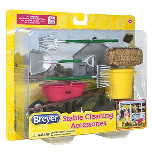 BREYER Classics Stable Cleaning Accessories Toy (Breyer Classic Stable compare prices)