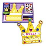 Melissa & Doug Decorate-Your-Own Crown Name Plaque