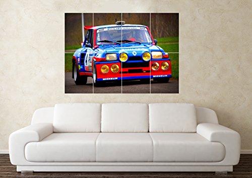 grande-renault-5-gt-turbo-auto-da-corsa-poster-da-parete-con-immagine-artistica
