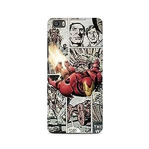 Ebby Iron Man Comic Premium Printed Case For Xiaomi Redmi Mi4i