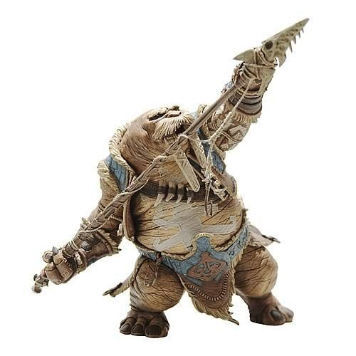 Picture of Diamond Comics World of Warcraft Series 4: Tuskaar: Tavru Akua Action Figure (B001EVX4WK) (Diamond Comics Action Figures)