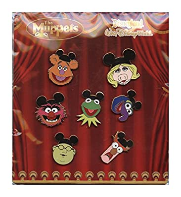 Disney Pin - Muppets with Mouse Ears - Mini Pin Booster Set (7 Pins)