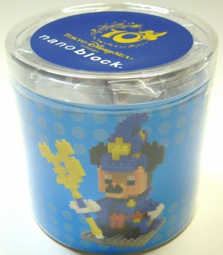 10th anniversary of Mickey Mouse nanoblock Tokyo DisneySea opened TDS 10th Anniversary Be Magical Mickey Mouse nanoblock japan import
