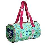 ROCO NAILS(ロコ ネイルス) 女の子 プールバック 女の子 ビーチバック ドラムバック グリーン F