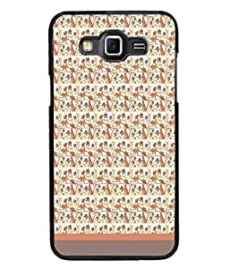 PrintDhaba Pattern D-1774 Back Case Cover for SAMSUNG GALAXY GRAND 3 (Multi-Coloured)