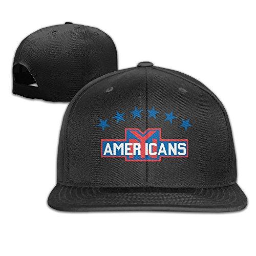 unisex-new-york-america-adjustable-snapback-trucker-hat-100cotton-black-one-size