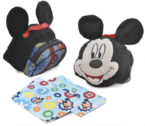 Disney Mm Mickey Pillow On The Go front-88327
