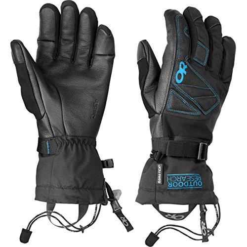 Outdoor Research Northback Sensor Gloves, Black/Hydro, Medium