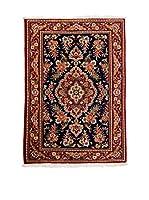 CarpeTrade Alfombra Persian Qum (Rojo/Multicolor)