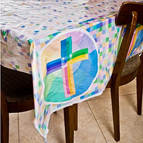 Holy Light Plastic Tablecover