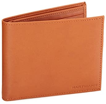 Hartmann Luggage Belting Leather Billfold,Natural,One Size