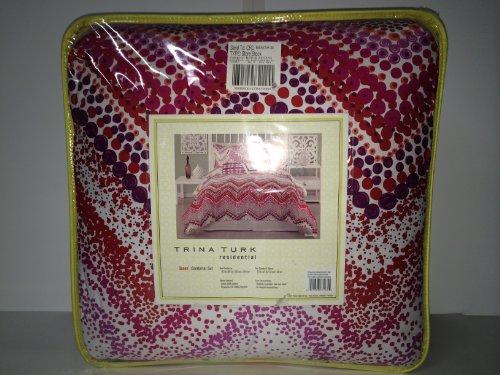 trina-turk-chevron-dots-queen-comforter-set