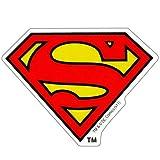 スーパーマン《アイコン》miniステッカー/防水加工!!☆アメコミキャラクターグッズ/シール通販☆