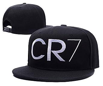Amazon.com: YUDUODUO Cristiano Ronaldo CR7 Logo Adjustable Snapback