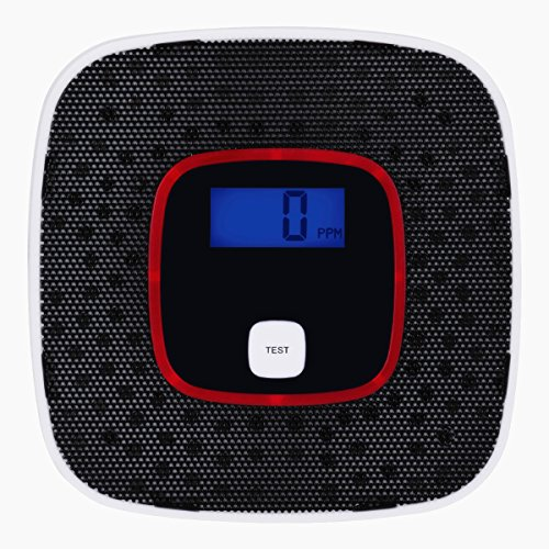 Carbon Monoxide Detector, Awakelion Battery-Operated Combo Co Detector/Alarm with Voice Warning (Carbon Monoxide Detector Black compare prices)