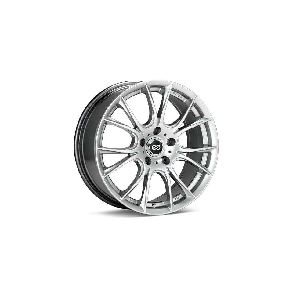 16x7 Enkei Ammodo (Hyper Silver) Wheels/Rims 5x100 (466 670 8038HS)