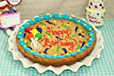 Zeldas Happy Birthday Balloons 12&quot; Chocolate Chip Cookie Cake