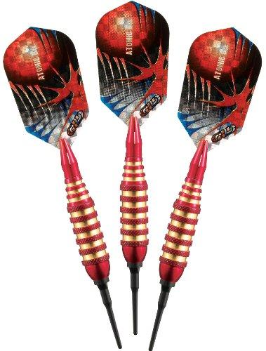 Viper Atomic Bee Soft Tip Darts, 16-Gram, Red