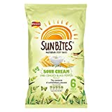 Walkers SunBites Wholegrain Snacks - Sour Cream & Cracked Black Pepper (6x25g)