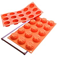 Silikomart Silicone Fancy And Function Bakeware Collection Multi Cake Pan Sunflower Small