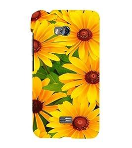 EPICCASE Sunflowers Mobile Back Case Cover For Micromax Q336 (Designer Case)